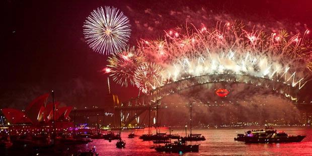 Berita Foto: Pesta Tahun Baru di Berbagai Negara
