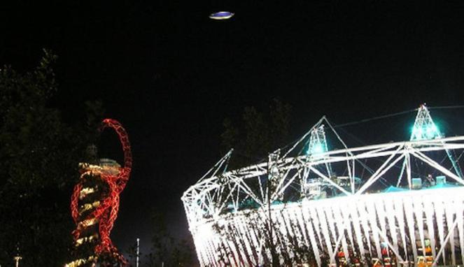 Benda yang diduga UFO Olimpiade
