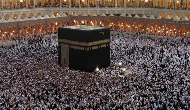 Masjidil Haram di Mekkah, Arab Saudi