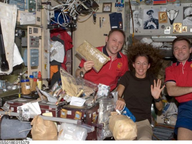 dapur pesawat luar angkasa