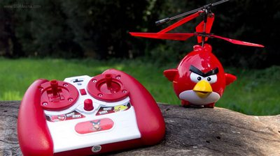 Mainan Helicopter Rc Angry Birds Pojok Pulsa