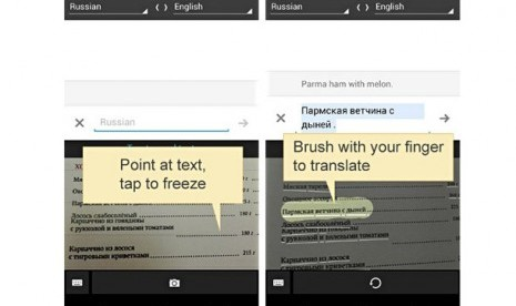 Translate Melalui Foto dengan Google Translate For Android