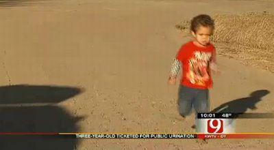 Bocah yang didenda (Foto: Fox News)