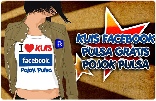 Kuis Facebook Pulsa Gratis Pojok Pulsa