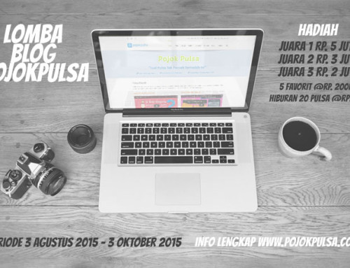 Lomba Blog PojokPulsa 2015 (CLOSED)