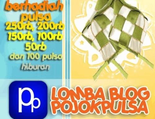 Pemenang Lomba Blog Pojok Pulsa Agustus 2012