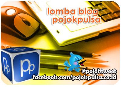 Lomba Blog Pojok Pulsa Mei 2012